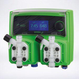 WDPHRX Automatische Chlor-ph-Regelung