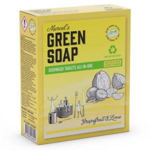 Pastillas para lavavajillas ecológicas